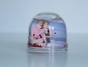 glob foto personalizat