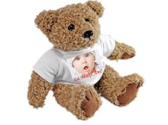 Ursulet de plus personalizat cu poza